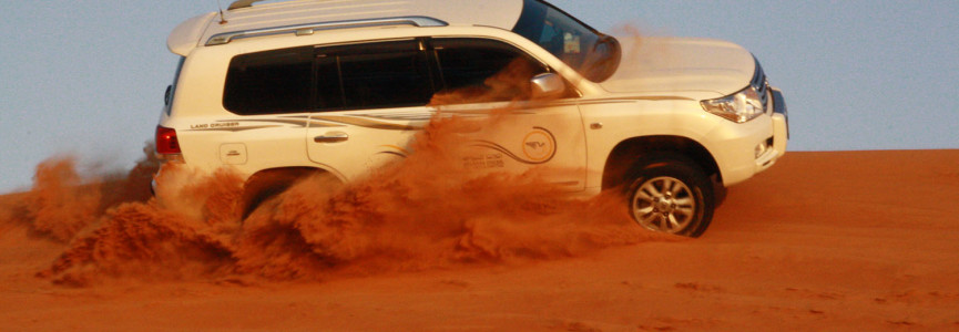 Travel To The Deserts Of Gulf With Desert Safari